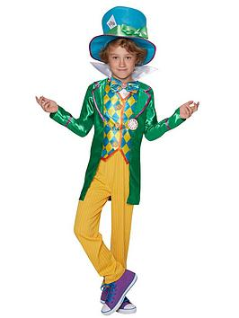 Alice in Wonderland  Alice In Wonderland Alice In Wonderland Mad Hatter - Older Child'S Costume