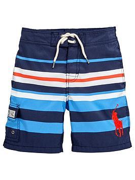 Ralph Lauren Boys MultiStripe Swim Shorts