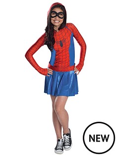spider-girl-hoodie-dress