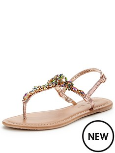 v-by-very-peaches-embellished-toepost-sandal-rose-gold