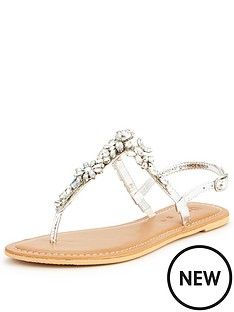 v-by-very-peaches-embellished-toepost-sandal--silver