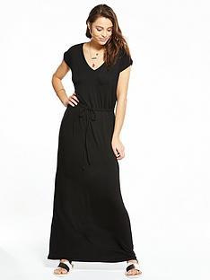 v-by-very-v-neck-tie-waist-maxi-dress