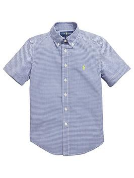 Ralph Lauren Short Sleeve Gingham Check Shirt