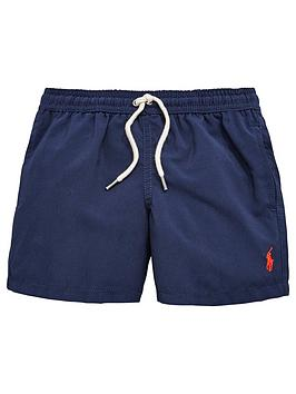 Ralph Lauren Boys Classic Swim Shorts &Ndash Navy