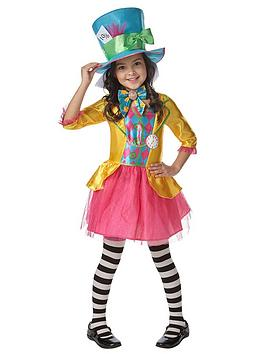 Alice In Wonderland Mad Hatter  ChildS Costume