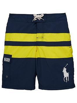 Ralph Lauren Boys Colour Block Swim Shorts