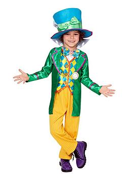 Alice in Wonderland  Alice In Wonderland Alice In Wonderland Mad Hatter - Child'S Costume