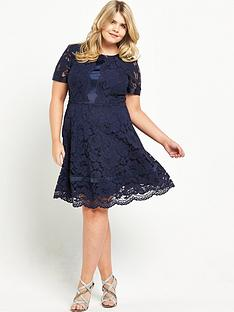 so-fabulous-satin-panel-swing-dress-navy