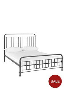foster-metal-double-bed-frame-with-mattress-options-buy-and-save