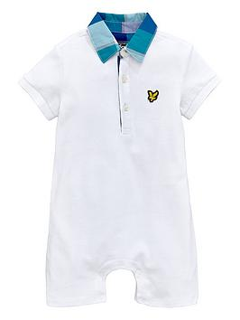 Lyle & Scott Ss Jersey Polo All In One