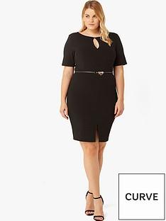 paper-dolls-curve-corset-waist-dress-black