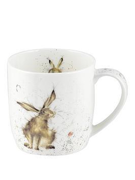portmeirion-wrendale-good-hare-day-mug-hare-by-royal-worcester-single-mug