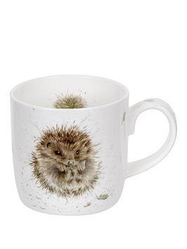 Royal Worcester Royal Worcester Wrendale Awakening Hedgehog Mug By Royal  ... Picture