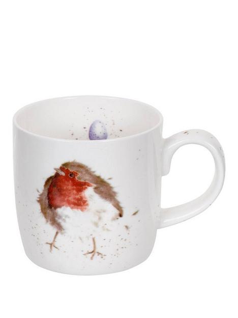 royal-worcester-wrendale-garden-friend-robin-mug