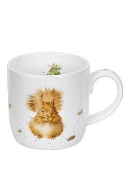 Royal Worcester Royal Worcester Wrendale Treetops Redhead Squirrel Mug By  ... Picture