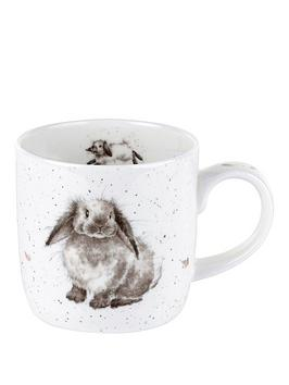 Royal Worcester Royal Worcester Wrendale Rosie Rabbit Mug By Royal  ... Picture