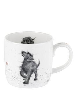 Royal Worcester Royal Worcester Wrendale Walkies Labrador Mug By Royal  ... Picture