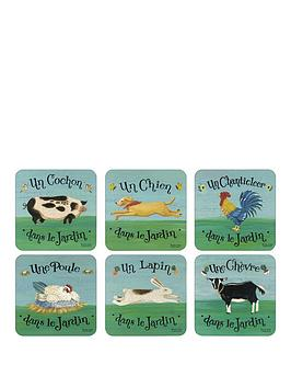 pimpernel-dans-le-jardin-coasters-set-of-6