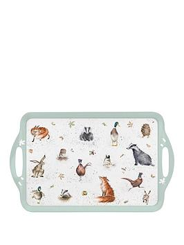 Royal Worcester Royal Worcester Wrendale Large Melamine Tray By Pimpernel Picture