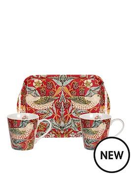 portmeirion-strawberry-thief-red-set-of-2-mugs-amp-tray