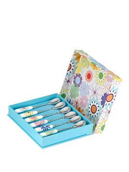 portmeirion-crazy-daisy-teaspoons-ndash-set-of-6