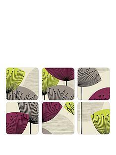 pimpernel-dandelion-clocks-coasters-set-of-6