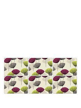 Pimpernel Dandelion Clocks Set Of 6 Placemats