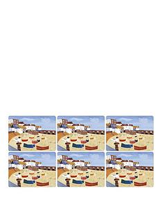 pimpernel-st-ives-windbreak-placemats-set-of-6