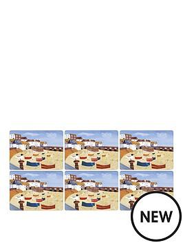 pimpernel-st-ives-windbreak-placemats-set-of-6