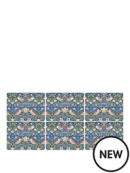 pimpernel-strawberry-thief-blue-placemats-set-of-6