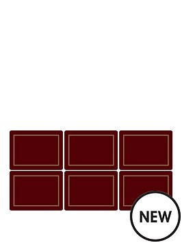 pimpernel-classic-burgundy-placemats-set-of-6