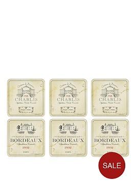 pimpernel-vin-de-france-coasters-set-of-6