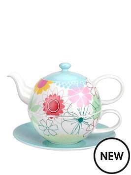 portmeirion-crazy-daisy-tea-for-one-with-saucer-set
