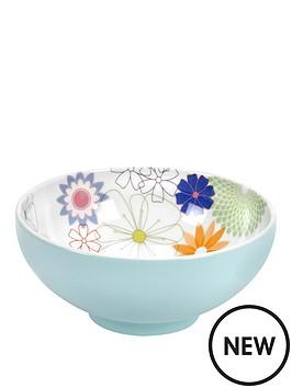 portmeirion-crazy-daisy-bowl-footed-15cm-set-of-4