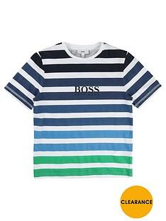 boss-boys-striped-classic-t-shirt