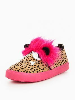 Mini Miss Kg Girls Roar Slip On Shoes