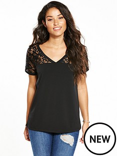 v-by-very-lace-yoke-crepe-tee