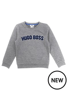 boss-crew-neck-logo-sweat-top