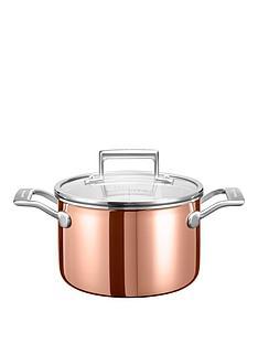 kitchenaid-3-ply-copper-cookware-collection-ndash-28-litre-saucepot