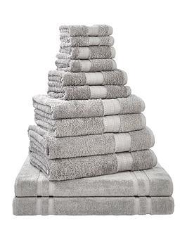 bianca-cottonsoft-12-piece-egyptian-towel-bale-grey