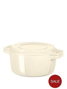 kitchenaid-professional-series-28cm-round-cast-iron-casserole-pot--nbspcream