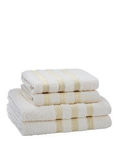 catherine-lansfield-sparkle-band-towel-bale-4-piece-set
