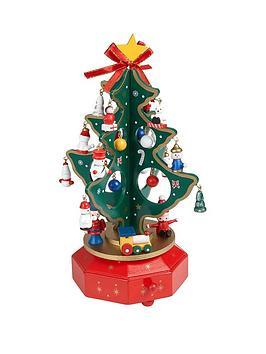 gisela-graham-wooden-christmas-tree-music-box