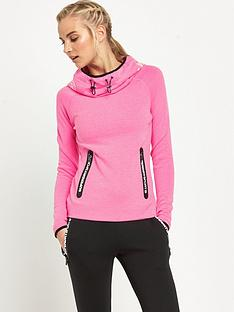 superdry-gym-tech-cowl-hood-neon-pink