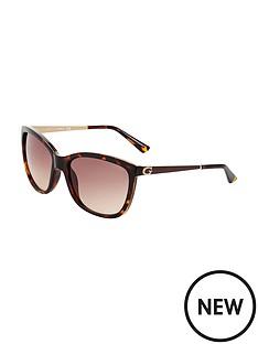 guess-havana-frame-sunglasses