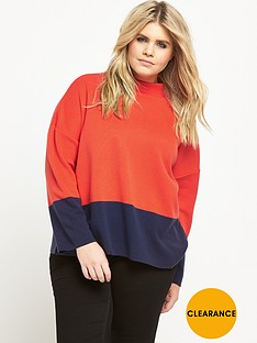 v-by-very-curve-colour-block-knit-jumper-navyorange