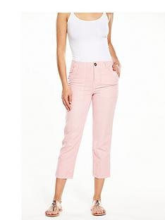 v-by-very-linen-mix-cargo-trousers-khakipinknbsp