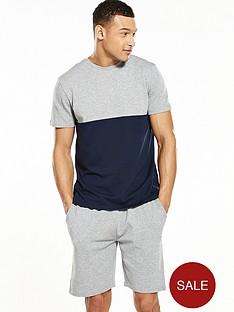 v-by-very-colour-block-pyjama-set