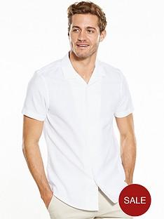 v-by-very-short-sleeve-cuban-collar-shirt