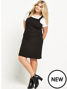 so-fabulous-stretch-pique-pinafore-dress-black